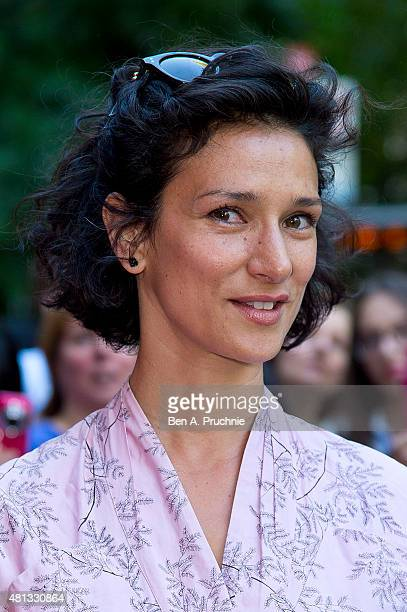 Indira Varma attends a gala performance of Matthew Bourne's 'The Car Man' at Sadlers Wells Theatre on July 19 2015 in London England