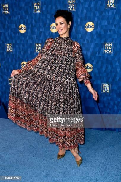 Indira Varma attends the ABC Television's Winter Press Tour 2020at The Langham Huntington Pasadena on January 08 2020 in Pasadena California