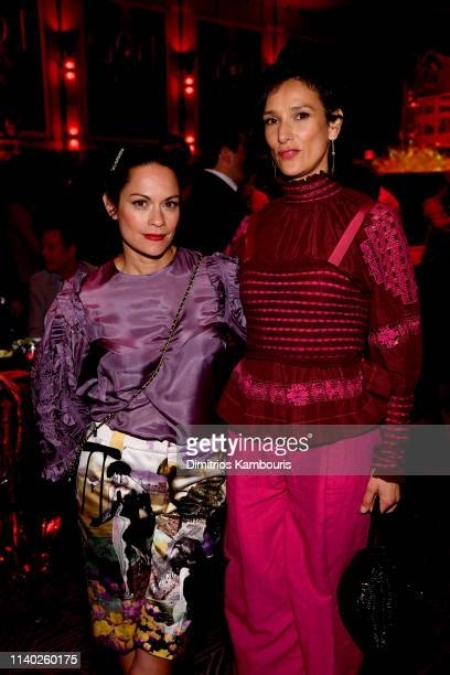 Indira Varma attends the Game Of Thrones Season 8 Premiere After Party on April 03 2019 in New York City