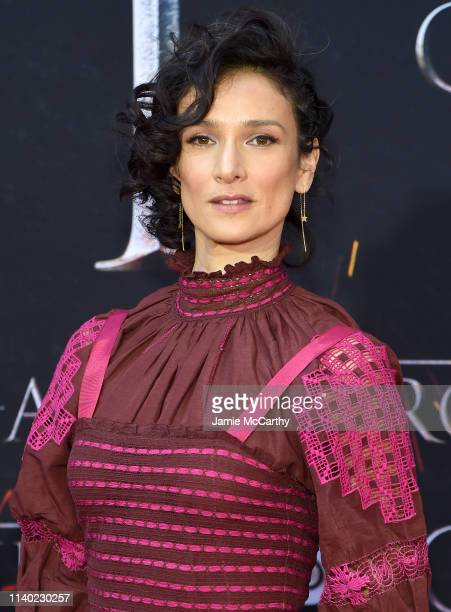 Indira Varma attends the Game Of Thrones Season 8 Premiere on April 03 2019 in New York City