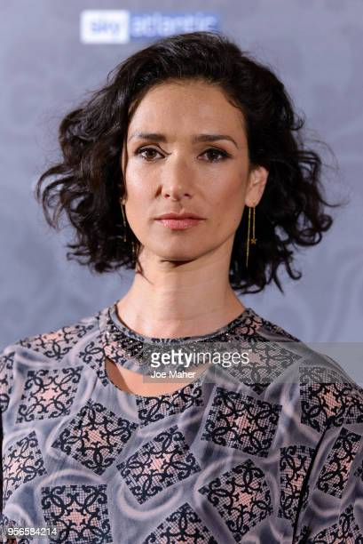 Indira Varma attends the launch of 'Patrick Melrose' at Searcys Knightsbridge on May 9 2018 in London England