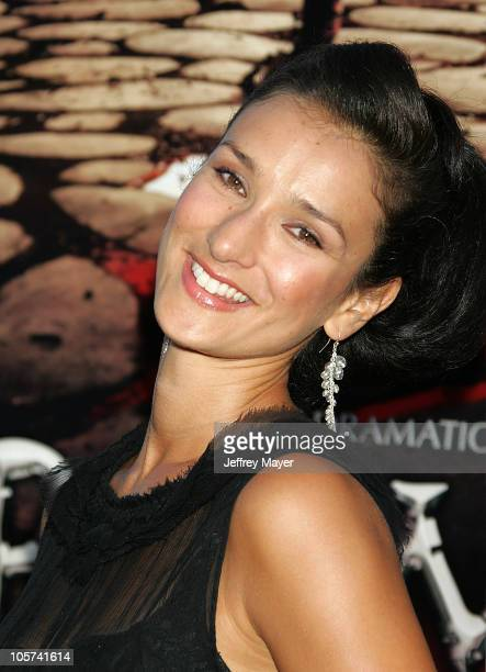 Indira Varma during HBO's Rome Los Angeles Premiere Arrivals at Wadsworth Theater in Westwood California United States