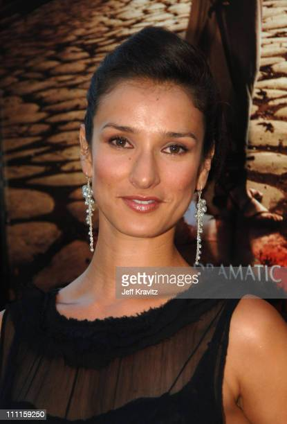 Indira Varma during HBO's Rome Los Angeles Premiere Red Carpet at Wadsworth Theater in Los Angeles California United States