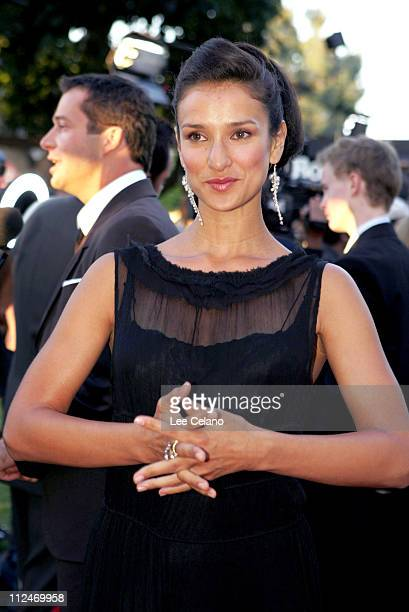Indira Varma during HBO's Rome Los Angeles Premiere Red Carpet at Wadsworth Theatre in Los Angeles California United States