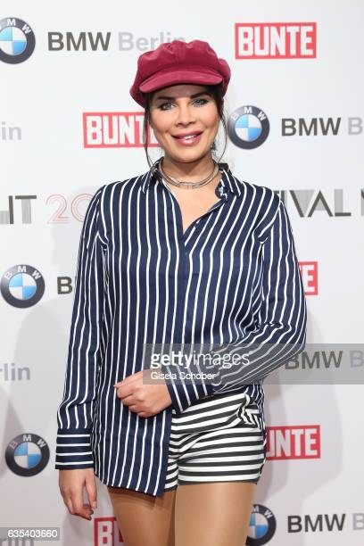 Indira Weis during the BUNTE BMW Festival Night during the 67th Berlinale International Film Festival Berlin at restaurant 'Gendarmerie' on February...