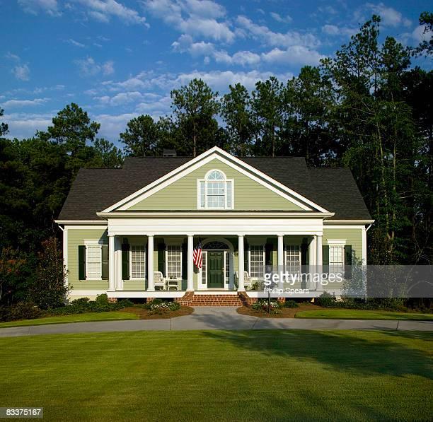 individual house 135 whitegate - geórgia sul dos estados unidos - fotografias e filmes do acervo