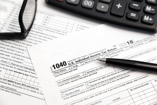 U.S. Individual income tax return 1096860812