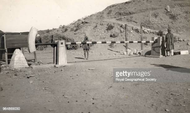IndoAfghan frontier on the Khyber Pass North West Frontier Pakistan 1930