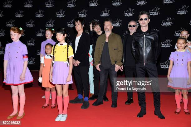 Indochine attends the 19th NRJ Music Awards on November 4 2017 in Cannes France