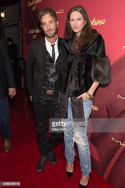 Indochine owner Jean Marc Houmard and Jenna Lyons attend Indochine's 30th Anniversary Party at Indochine on November 7, 2014 in New York City.
