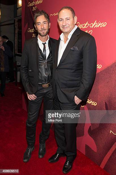 Indochine owner Jean Marc Houmard and John Demsey attend Indochine's 30th Anniversary Party at Indochine on November 7, 2014 in New York City.