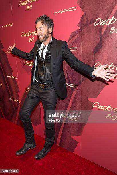 Indochine owner Jean Marc Houmard attends Indochine's 30th Anniversary Party at Indochine on November 7, 2014 in New York City.