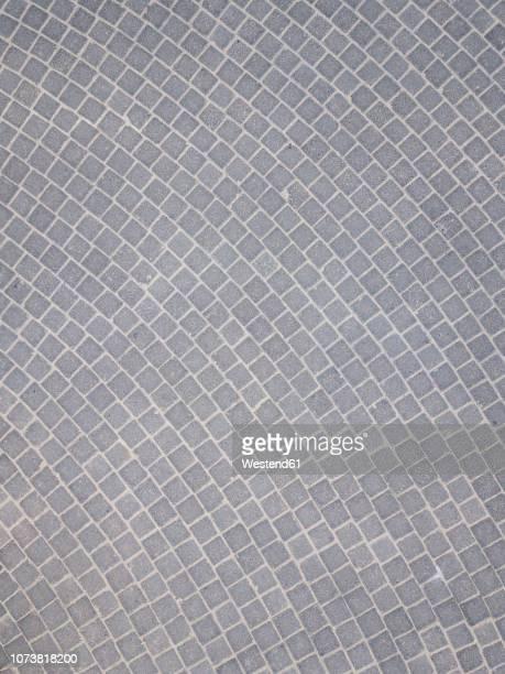 indonesia, bali, aerial view of cobblestones - adoquinado fotografías e imágenes de stock