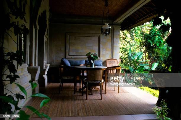 Indonesia Bali Ubud 'kebun Indah' Bungalow Downstairs Room By The Pool Patio