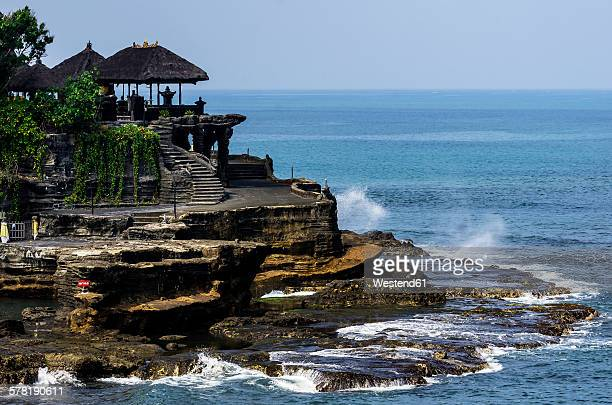 Indonesia, Bali, Ubud, View to Tanah Lot Temple