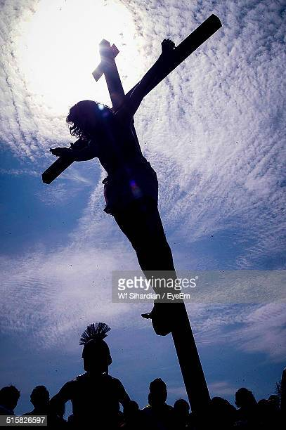 indonesia, central java, indonesian catholics celebrating easter - stations of the cross stock pictures, royalty-free photos & images