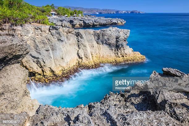 Indonesia, Coastline of Nusa Lembongan island
