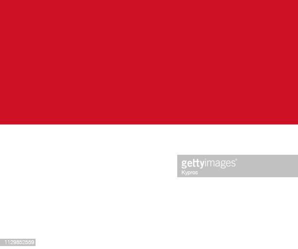 indonesia flag - indonesien stock-fotos und bilder