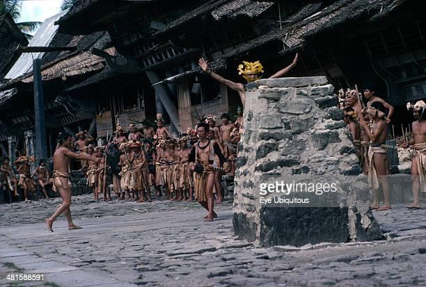 Indonesia Initiation Nias Tribal Initiation Ceremony