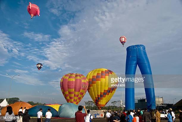 CONTENT] Indonesia International Hot Air Balloon Festival