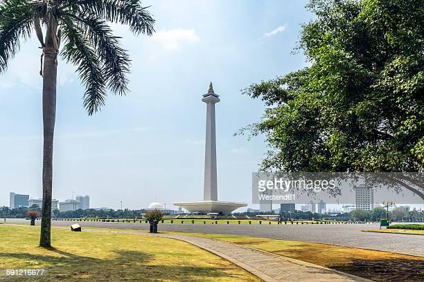 Indonesia, Jakarta, Merdeka Square, National Monument Monas