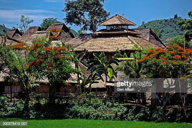 Indonesia, Lombok, Rambitan, traditional Sasak village