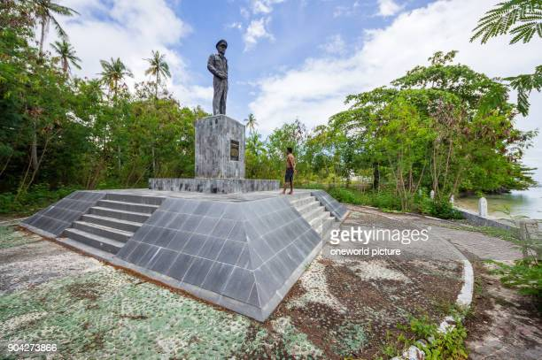Indonesia Maluku Utara Kabul Pulau Morotai Douglas MacArthur Memorial on Pulau Morotai on Northern Molikken