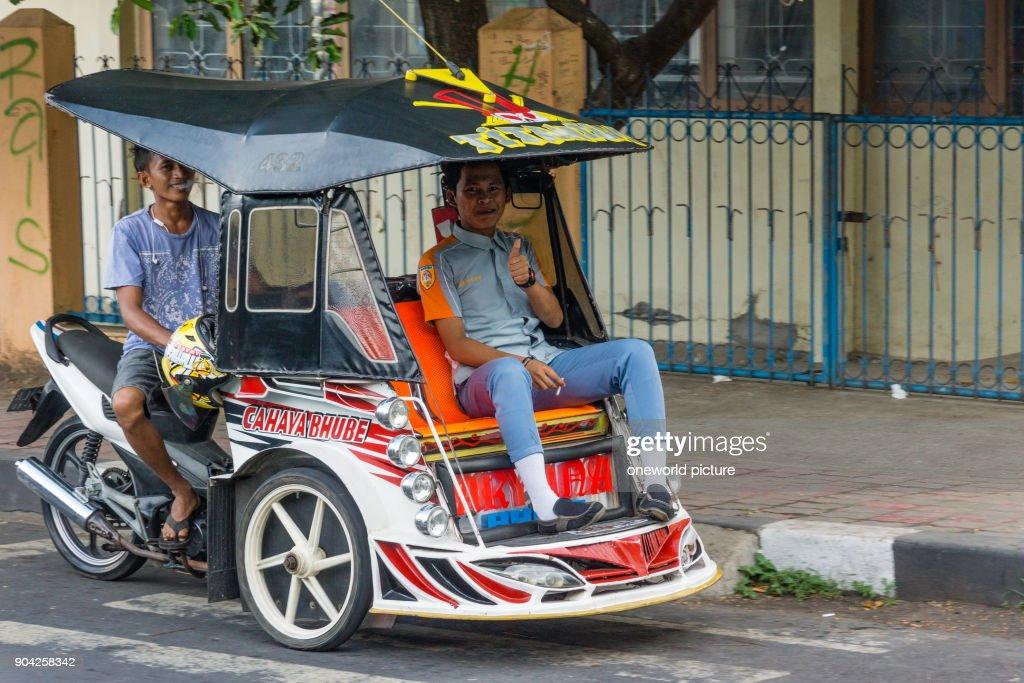 Indonesia Maluku Utara Kota Tidore Kepulauan Locals In A Vehicle News Photo Getty Images