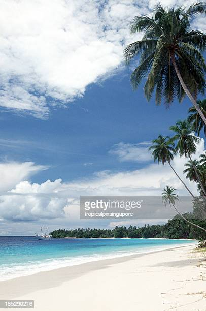 Indonesia, North Sumatra Province, Hinako Islands, beach.