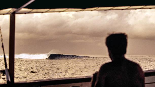 Indonesia, Ocean Wave in the Mentawai Islands