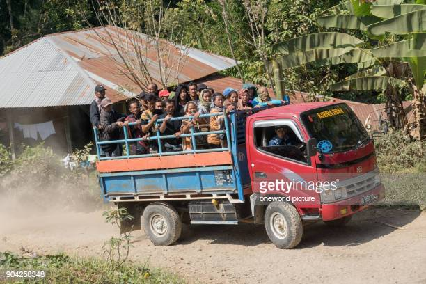 Indonesia Sulawesi Selatan Toraja Utara person transport