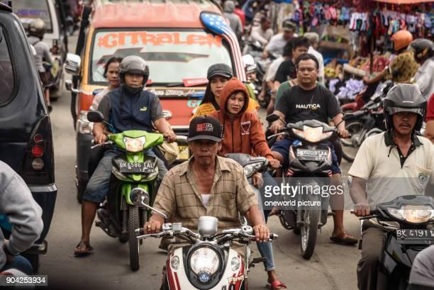 Indonesia Sumatera Utara Kota Medan road scenes