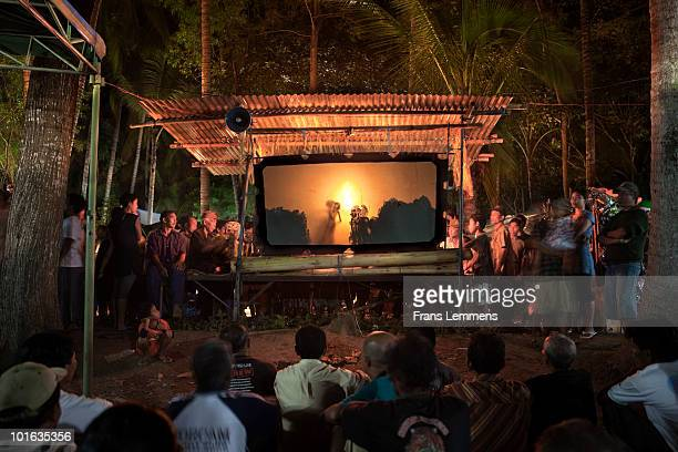 Indonesia, Wayang Kulit, shadow puppet theatre