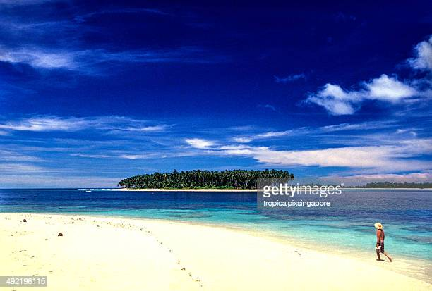 Indonesia, West Sumatra, Mentawai Islands.