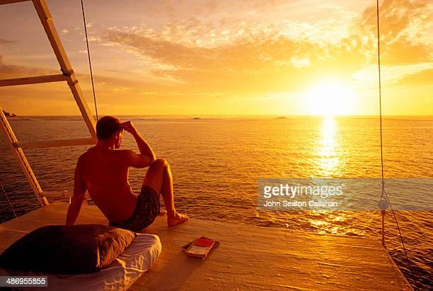 Indonesia West Sumatra Mentawai Islands sunrise