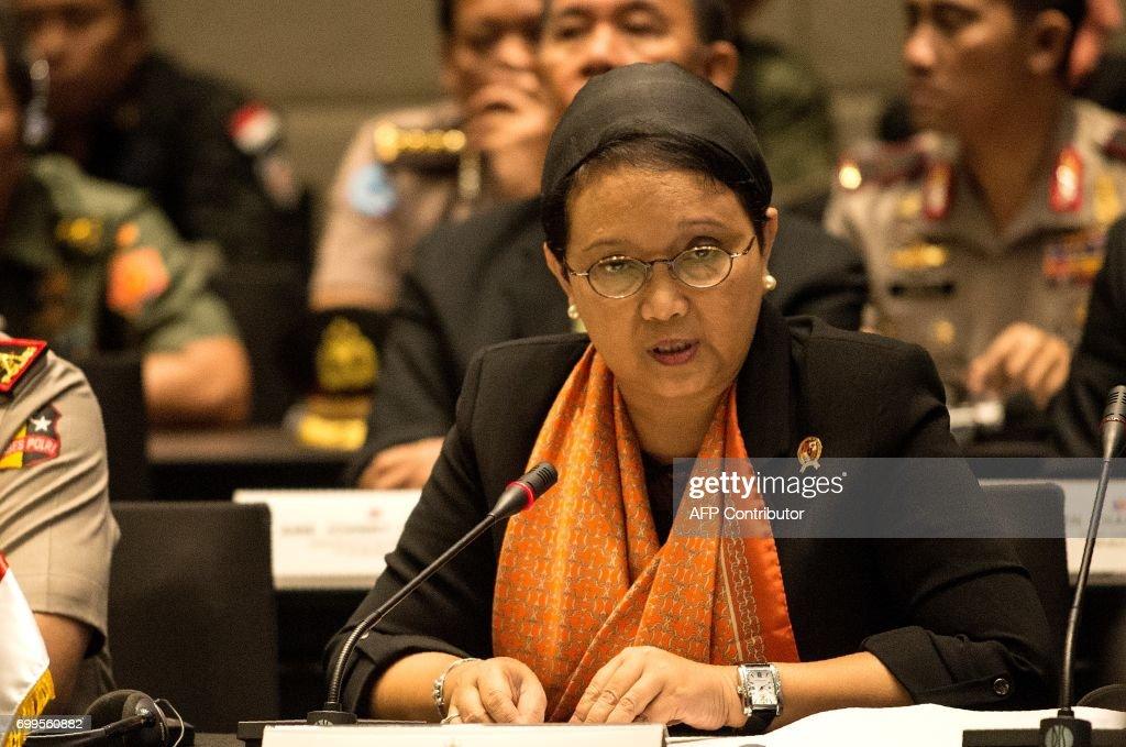 PHILIPPINES-INDONESIA-MALAYSIA-DEFENSE-SECURITY : News Photo