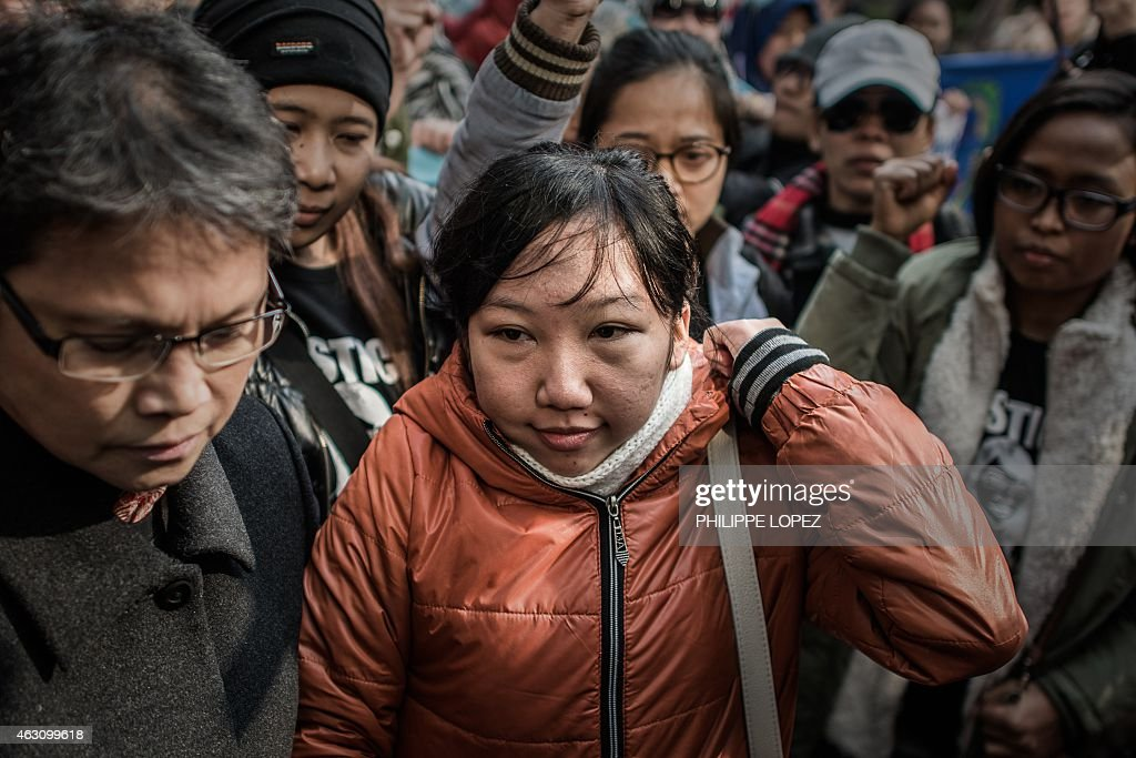 HONG KONG-INDONESIA-LABOUR-JUSTICE-TRIAL : News Photo