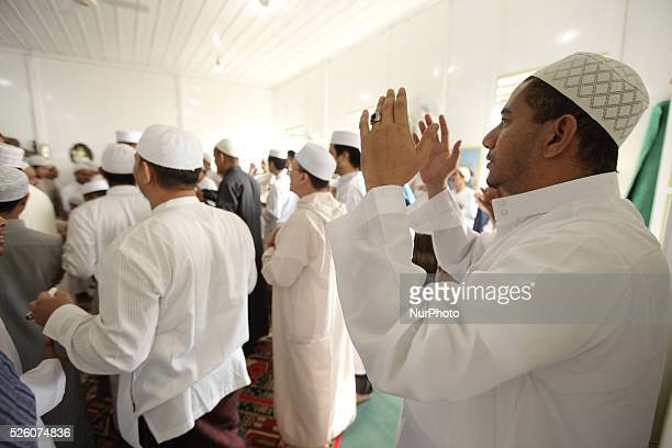 Indonesian Muslim join a special tradition of celebrating Eid Al Fitr that called quotRumpakrumpakanquot after Eid Al Fitr Praying on July 17 2015 in...