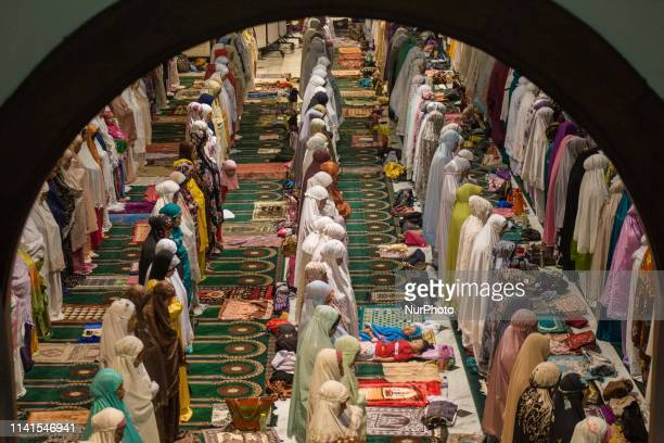 Indonesian Muslims perform the 'tarawih' prayer marking the first eve of Islam's holy month Ramadan as the world's most populous Muslimmajority...
