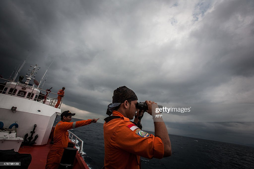 INDONESIA-MALAYSIA-MALAYSIAAIRLINES-CHINA-TRANSPORT-ACCIDENT : News Photo