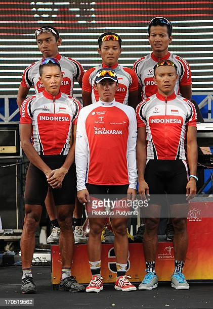 CONTENT] Indonesian National Team got the 3rd place in Team General Classification by time in Tour de Singkarak 2013