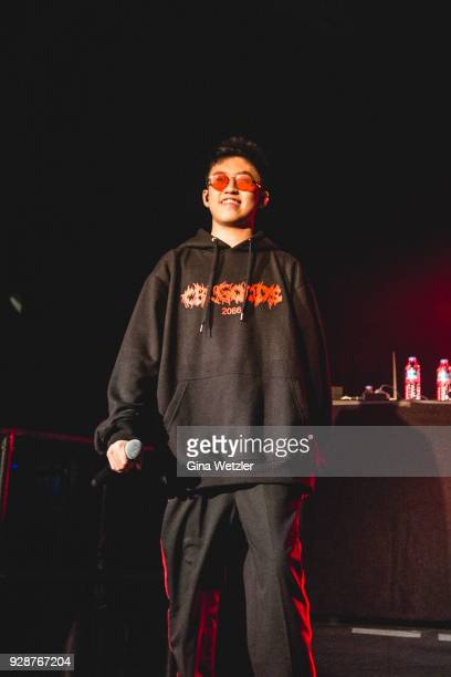 Rich chigga pictures and photos getty images indonesian rapper brian imanuel aka rich brian formerly rich chigga performs live on stage during a stopboris Choice Image