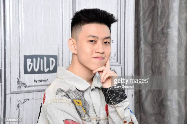 """Indonesian rapper Rich Brian visits the Build Series to discuss the song """"100 Degrees"""" at Build Studio on November 20 2019 in New York City"""