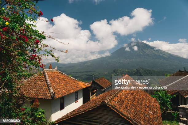 Indonesian volcano Agung