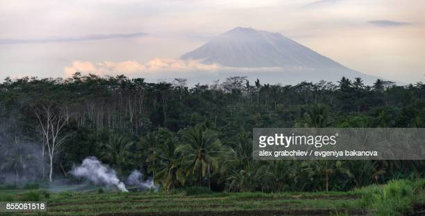 Indonesian volcano Agung