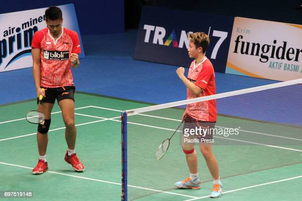 Indonesia's mixed doubles partner Tontowi Ahmad and Liliyana Natsir won the BCA Indonesia Open Super Series Premier 2017 The victory was achieved...