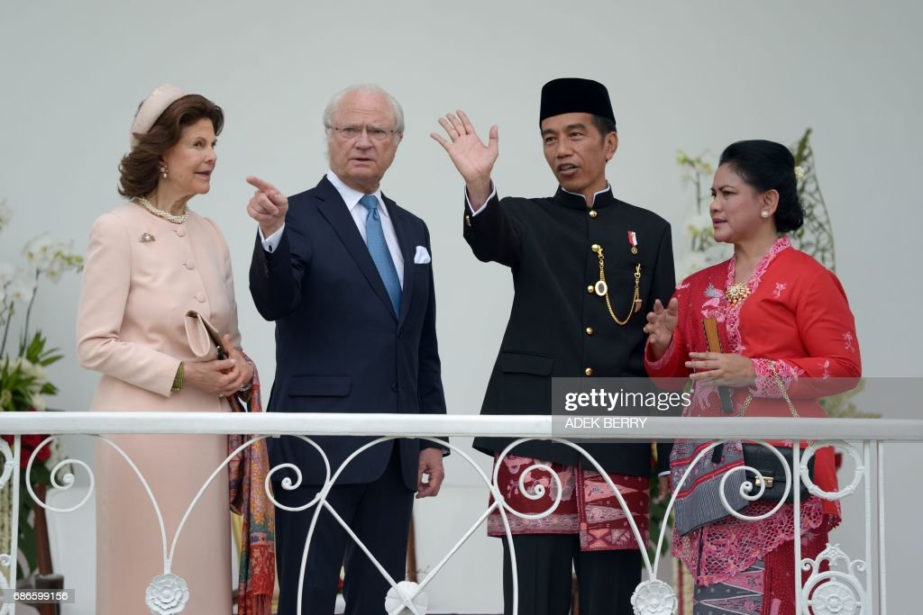 INDONESIA-SWEDEN-DIPLOMACY : News Photo