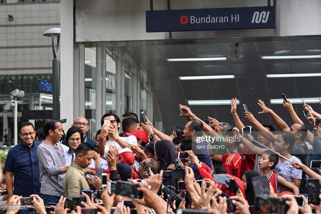 INDONESIA-TRANSPORT-MRT : News Photo