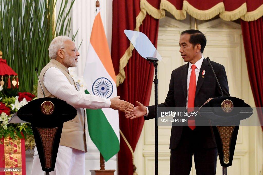 INDONESIA-INDIA-DIPLOMACY : News Photo