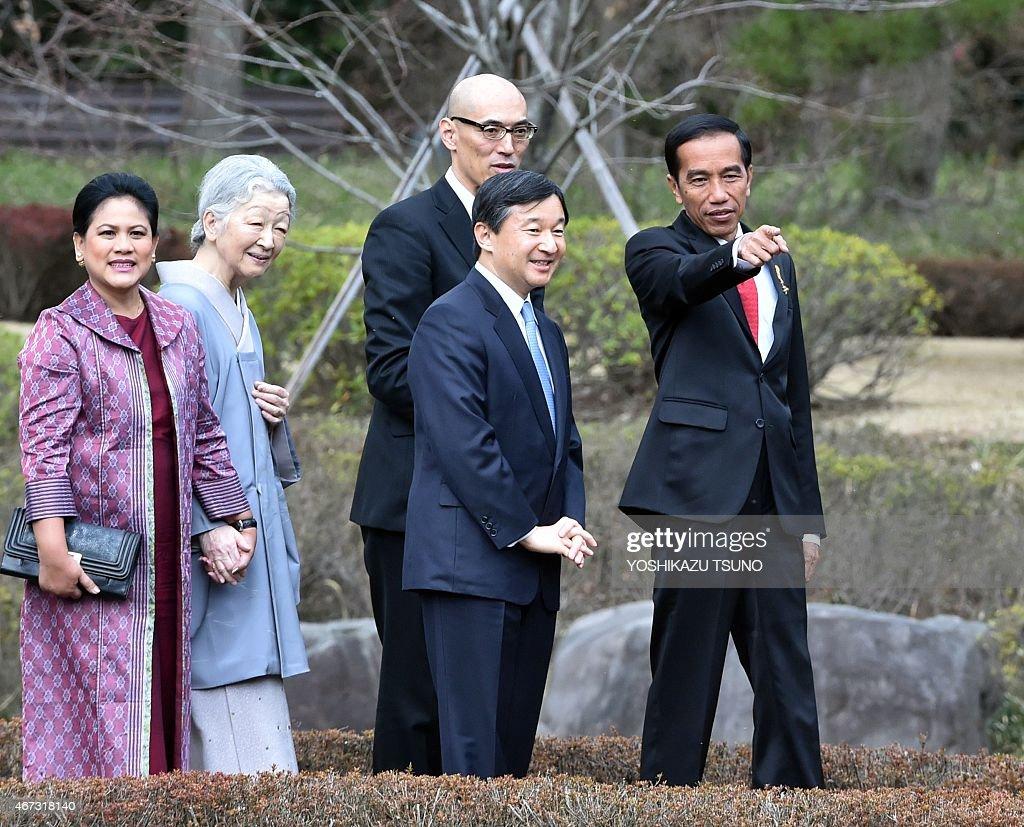 JAPAN-INDONESIA-DIPLOMACY : News Photo